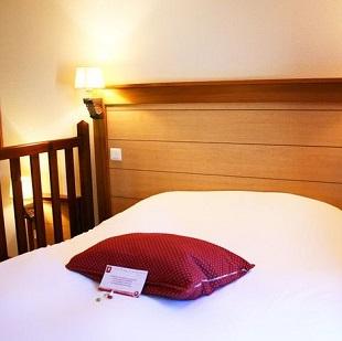 Chambre simple au Volcan Hôtel
