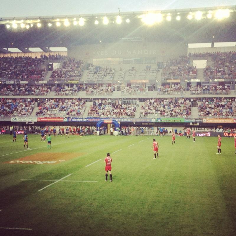 Match à l'Alstrad Stadium
