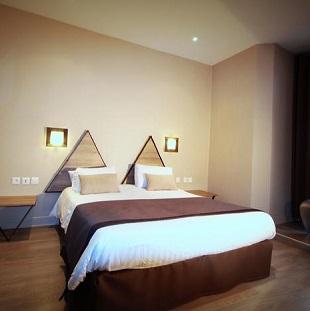 Chambre double à l'hôtel l'Amirauté