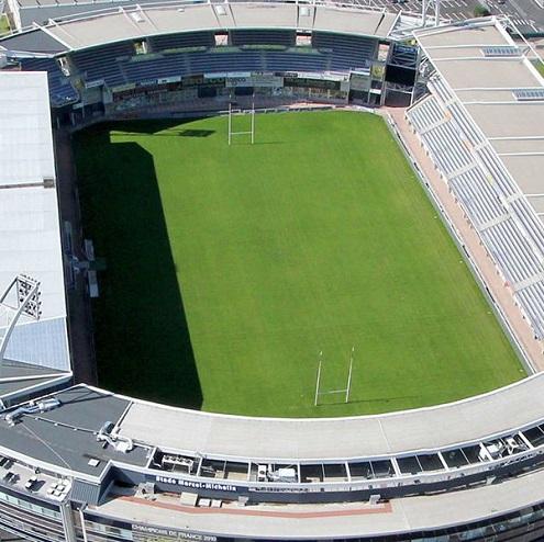 Vue aérienne du Stade Marcel Michelin ç Clermont-Ferrand