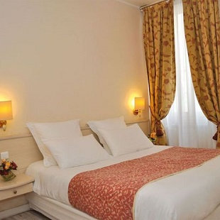 Chambre double au Grand Hôtel Dauphiné