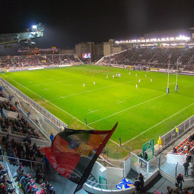 Jour de match au stade Mayol à Toulon