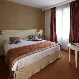 Chambre double au Royal Hôtel