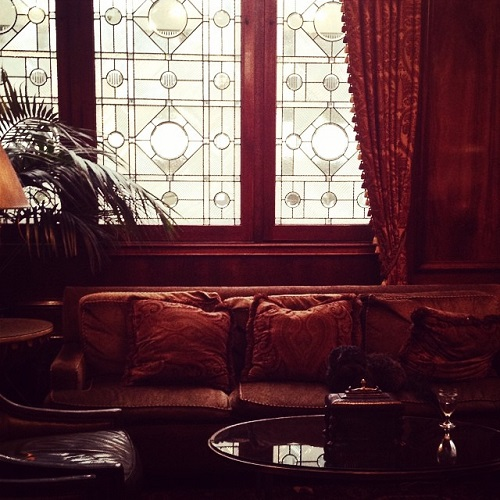 Salon du Benson Hotel à Portland