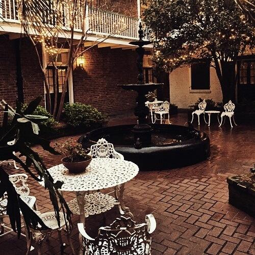 Terrasse de l'Hotel Provincial à La Nouvelle-Orléans