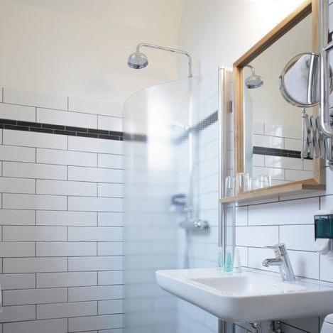 Salle de bain - Hôtel Langholmen - Stockholm