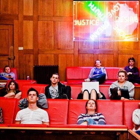 Salle de cinéma - Auberge de jeunesse Clink78 - Londres