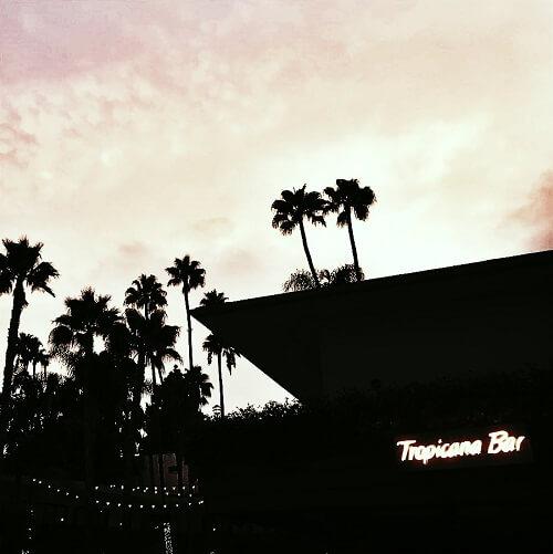 Le Tropicana Bar au Hollywood Roosevelt à Hollywood