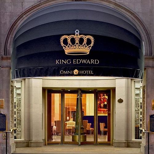 Entrée du Omni King Edward Toronto