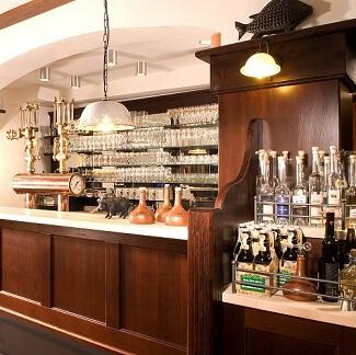 Bar au Brauereigasthof Drei Kronen à Memmelsdorf