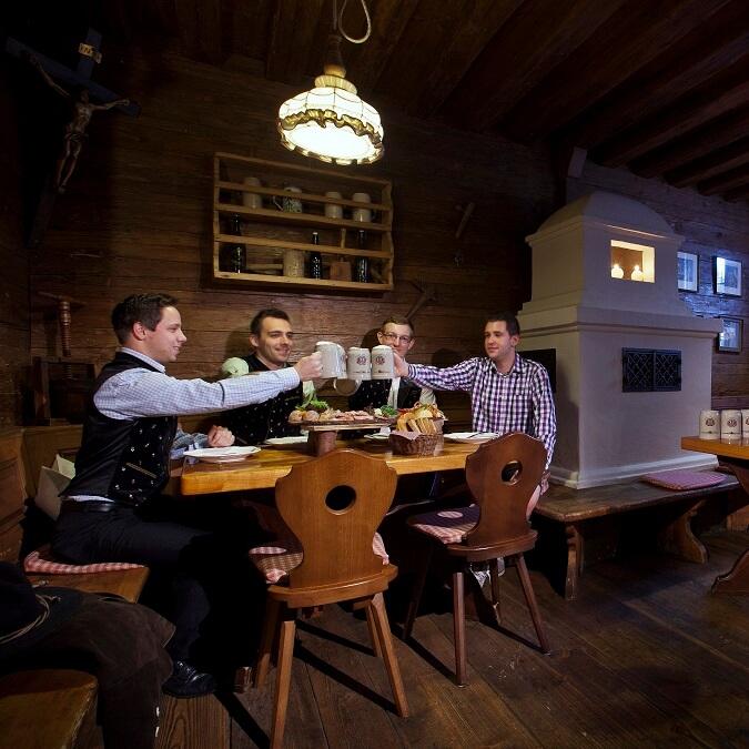 Salle à manger au Zum Erdinger Weissbraü à Erding