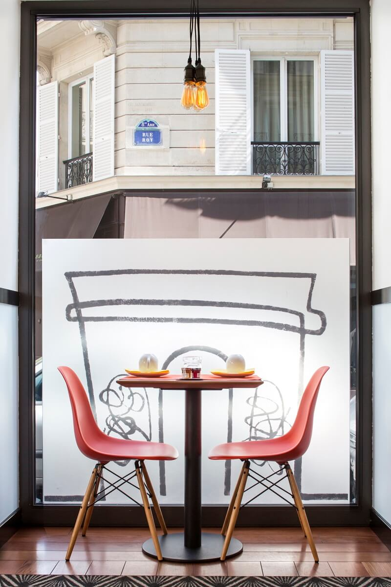 Table petit-déjeuner - Hôtel Augustin Astotel - Paris