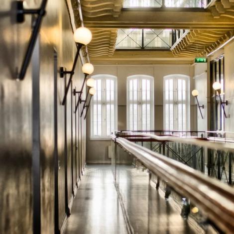 Couloir - Hôtel Langholmen - Stockholm