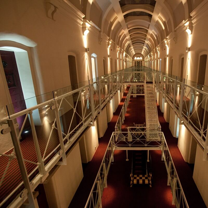 Hall - Hôtel Malmaison Oxford - Angleterre
