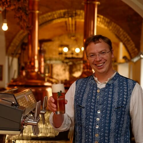 Michal Gilg au Griesbräu zu Murnau à Murnau