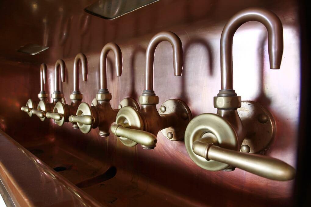 Détails d'une cuve de brassage Best Western BierKulturHotel Schwanen à Ehingen