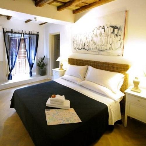 Chambre double au Blue Hostel à Rome