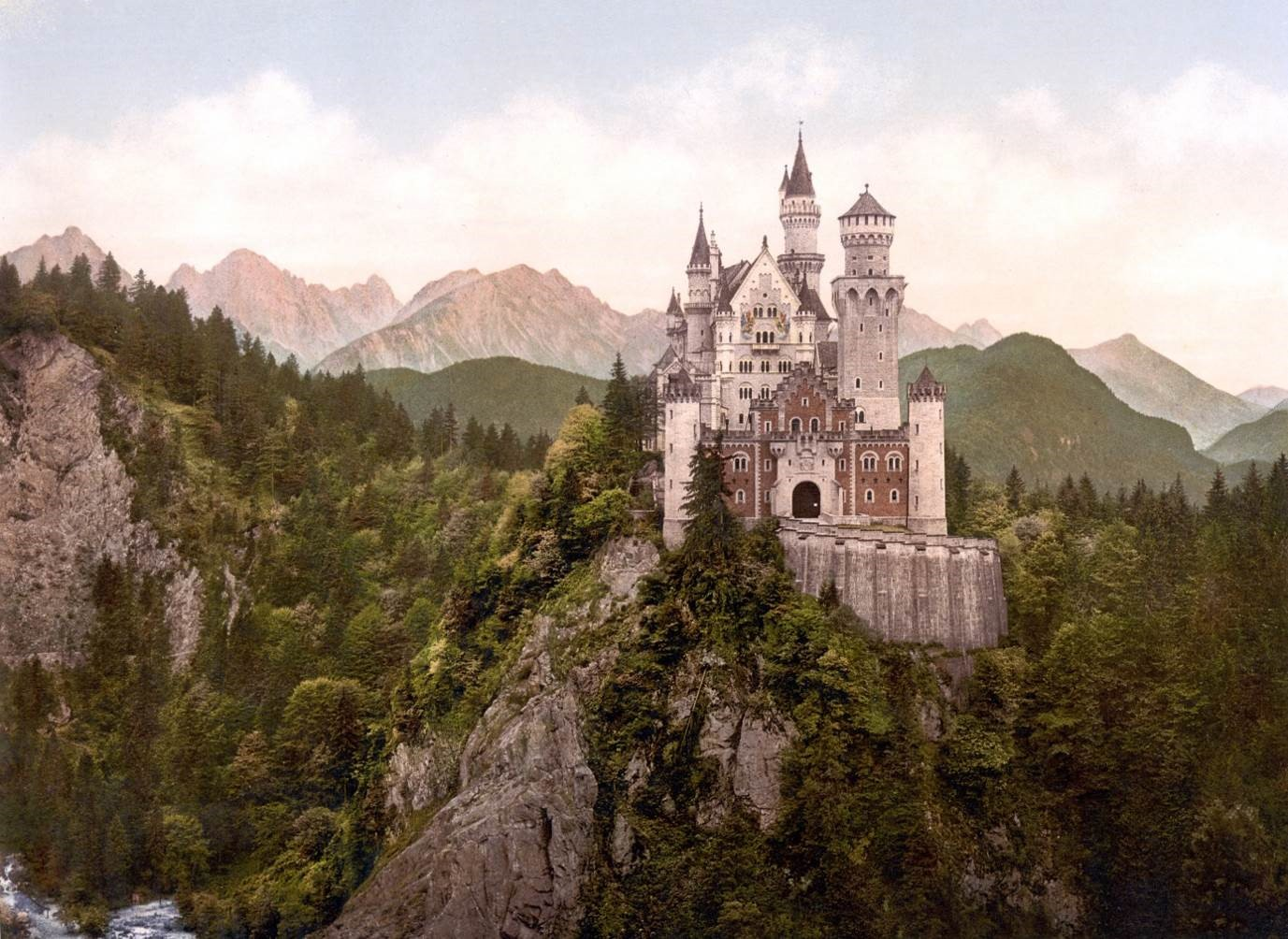 The Fairy Tale Castle Neuschwanstein προορισμοι γερμανια