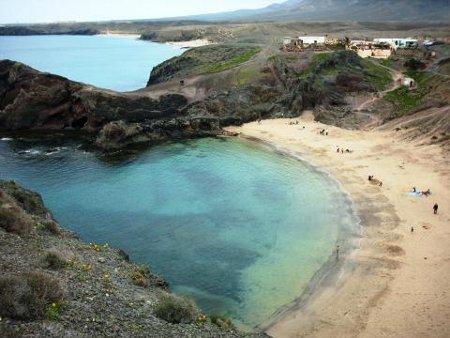 Papagayo Strand auf Lanzarote
