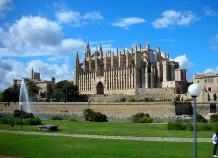 Die Kathedrale Sa Seu in Palma de Mallorca