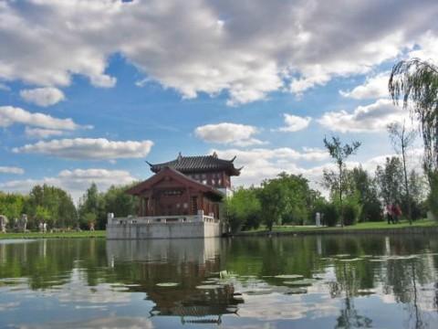 Erholungspark Marzahn:  Chinesischer Pavillion (Gärten der Welt)