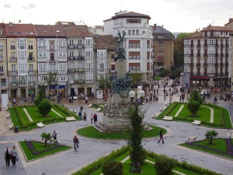 Plaza de la Virgen Blanca in Vitoria