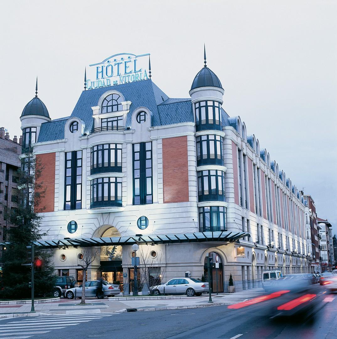 Das Hotel Ciudad de Vitoria