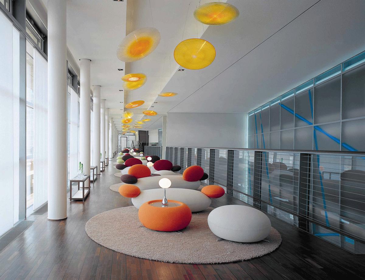 Loung Trendige Sky-Lounge im Side Hotel