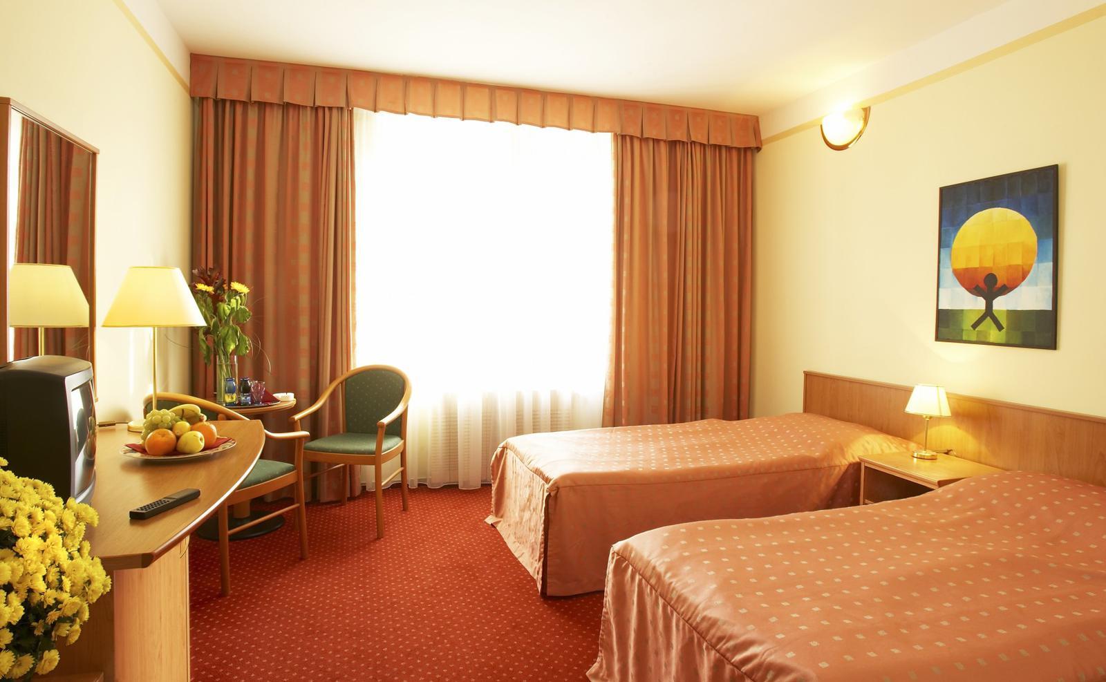 Ein Zimmer des Hotels