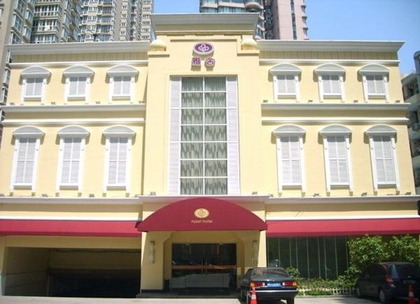 Hotel Asset im Fianzviertel Xuhui