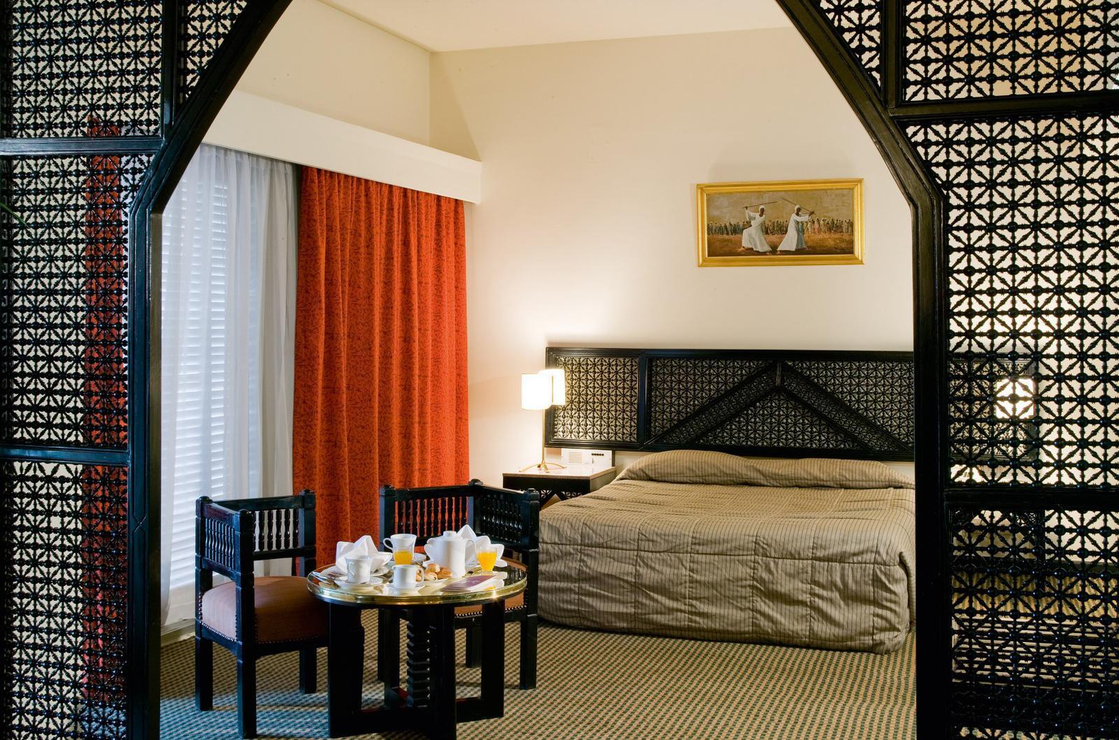 Zimmer im ägyptischen Hotel