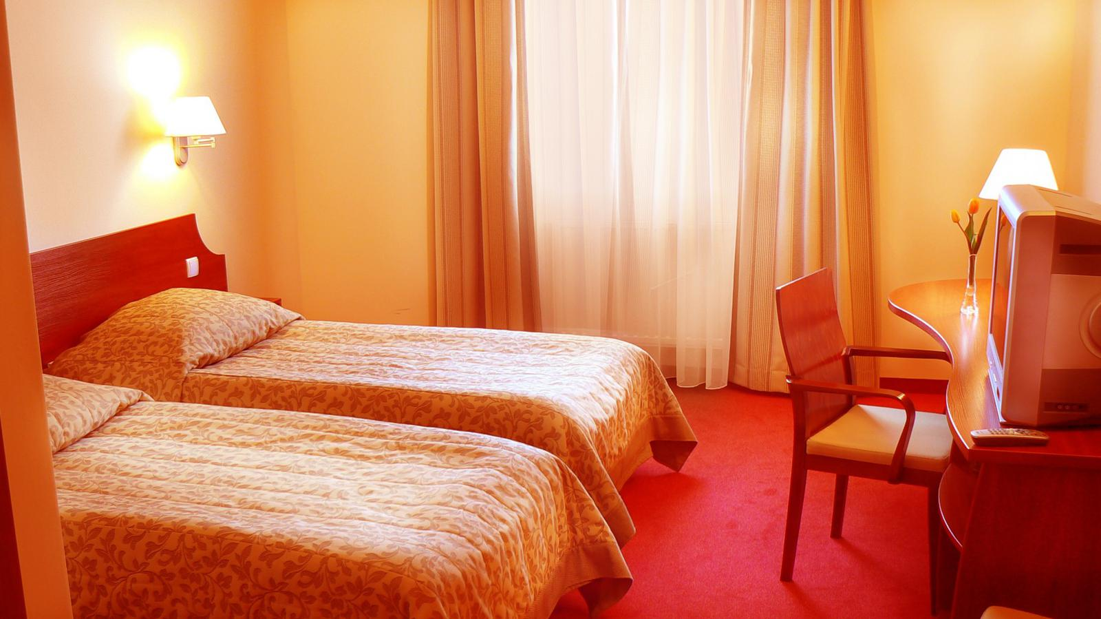 Zimmer im Hotel Major