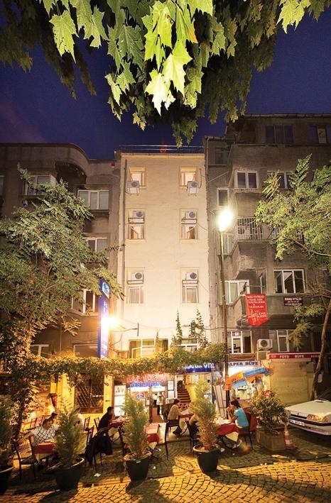 Hotel Meddusa mitten in Istanbuls Altstadt