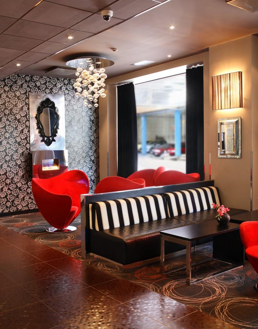 Die moderne Hotel Lobby