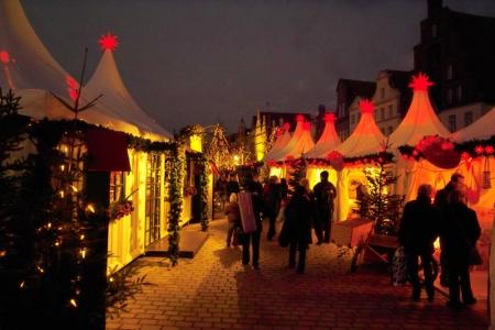 Familienweihnachtsmarkt in Lübeck, Foto: Lübeck und Travemünde Marketing GmbH / Joelle Weidig