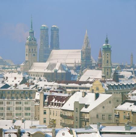 München im Winter, Foto: Tourismusamt München / Christl Reiter
