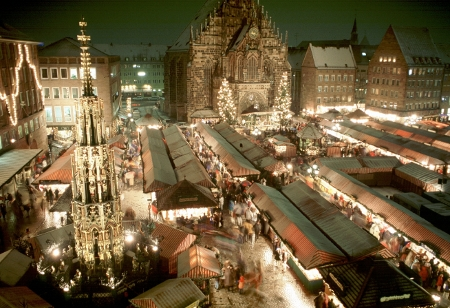 Der Nürnberger Weihnachtsmarkt, Foto: Congress- und Touristmus-Zentrale Nürnberg