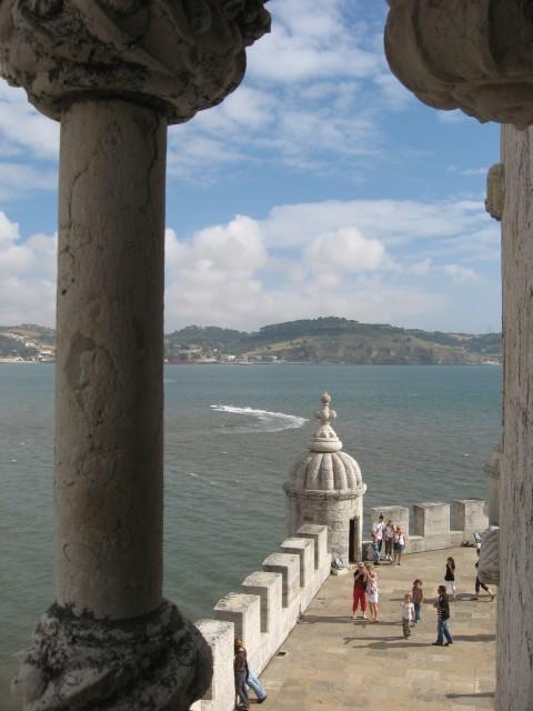 Ausblick vom Turm von Belem