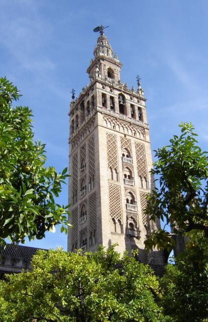 "Blick auf den Turm ""Giralda"""