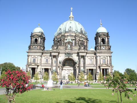Ansicht der Berliner Doms