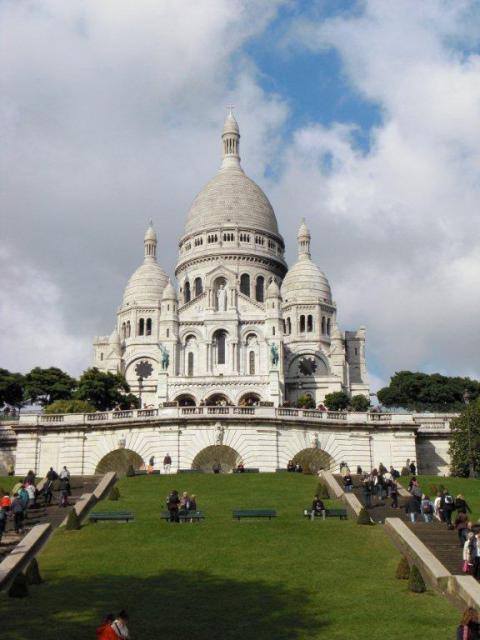 """Ansicht der Kathedrale """"Sacré Coeur"""""""