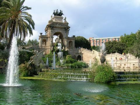 """Blick in den """"Parc de Ciutadella"""""""