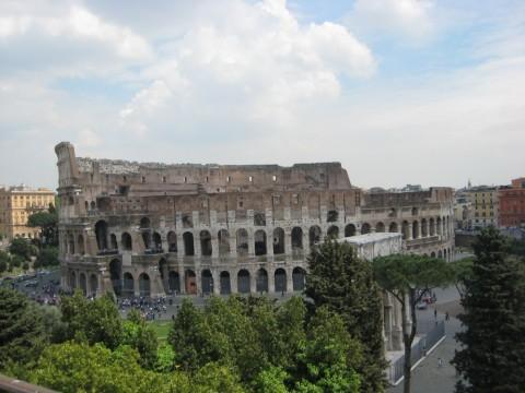 Ansicht des Kolosseums