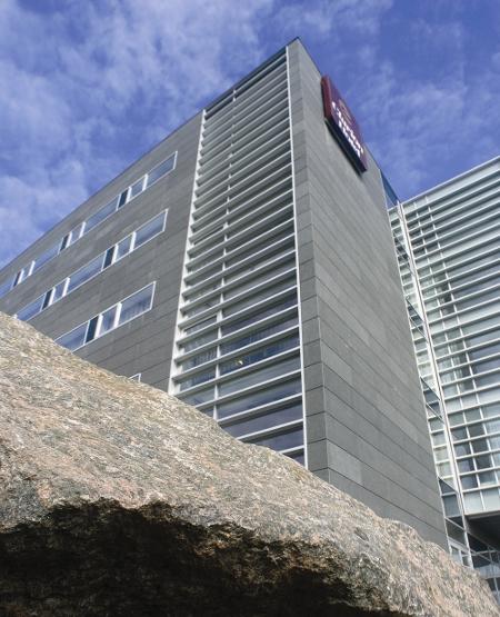 Ansicht des Hotels