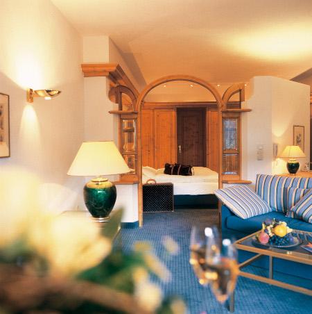 Hotel Traube Tonbach - Eines der Zimmer