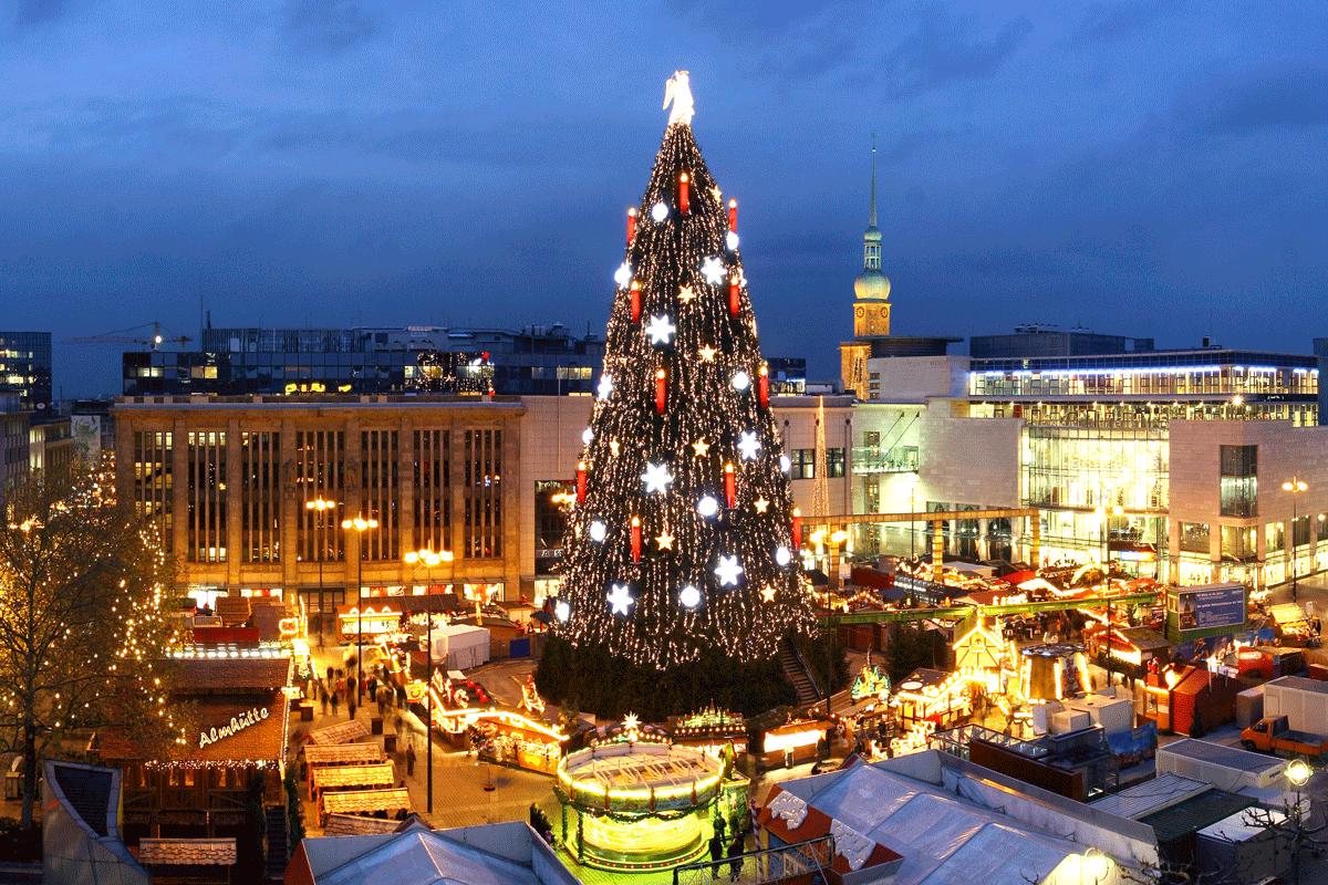 Dortmunder Weihnachtsmarkt Stände.Weihnachtsmärkte Die Beliebtesten Und Größten In Deutschland