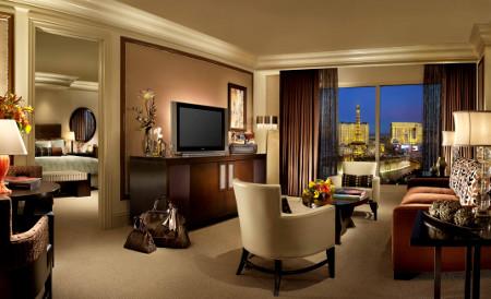 Ein luxuriöses Zimmer des Hauses