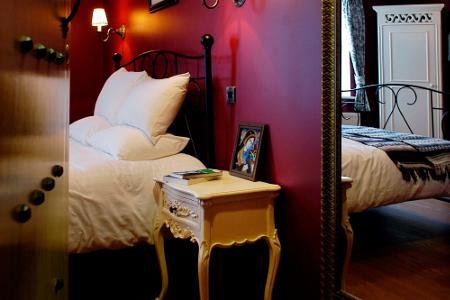 Die gemütlichen Zimmer des Hotels.