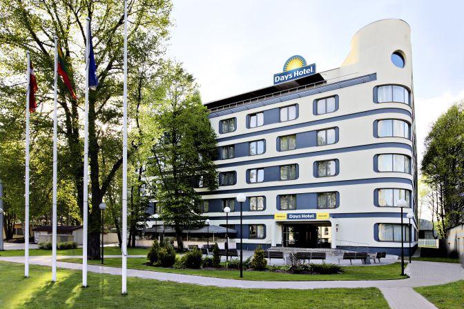 Aussenansicht Days Hotel Riga