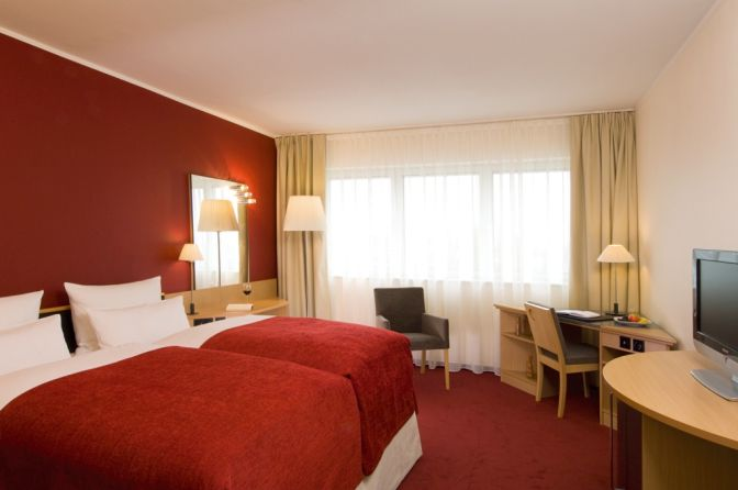 NH Dresden Hotel Zimmer